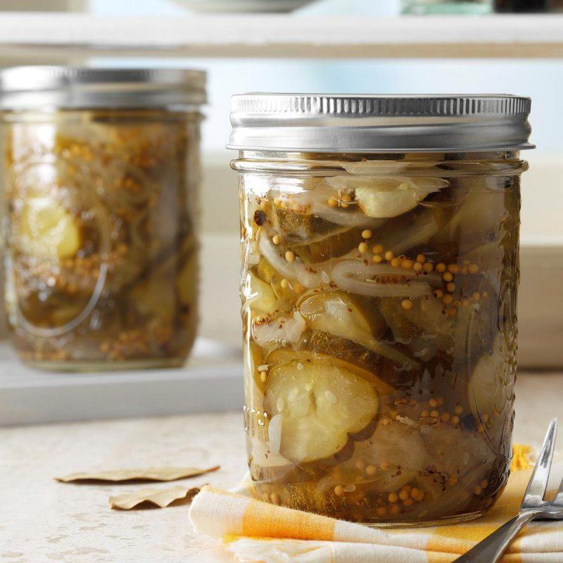 Best Ever Sweet Pickles Recipe | Taste of Home