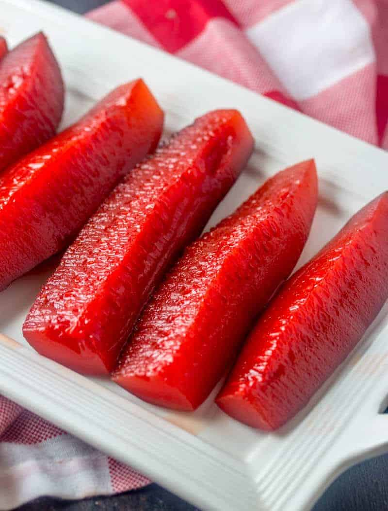 Kool Aid Pickles {A Sweet and Sour Colorful Snack}