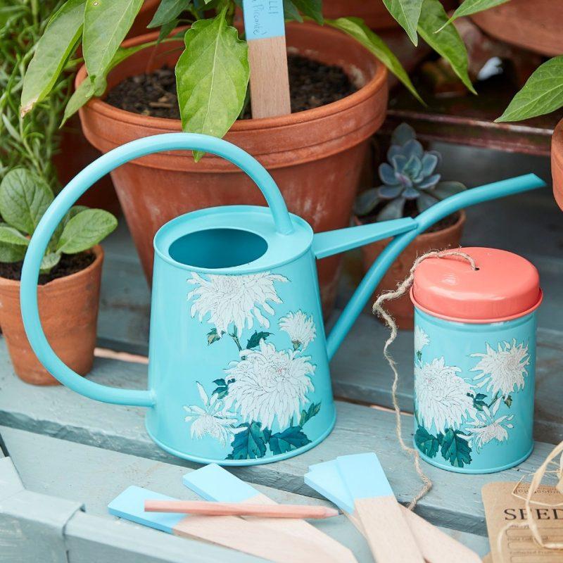 Burgon & Ball - RHS Chrysanthemum Indoor Watering Can - YaYa21