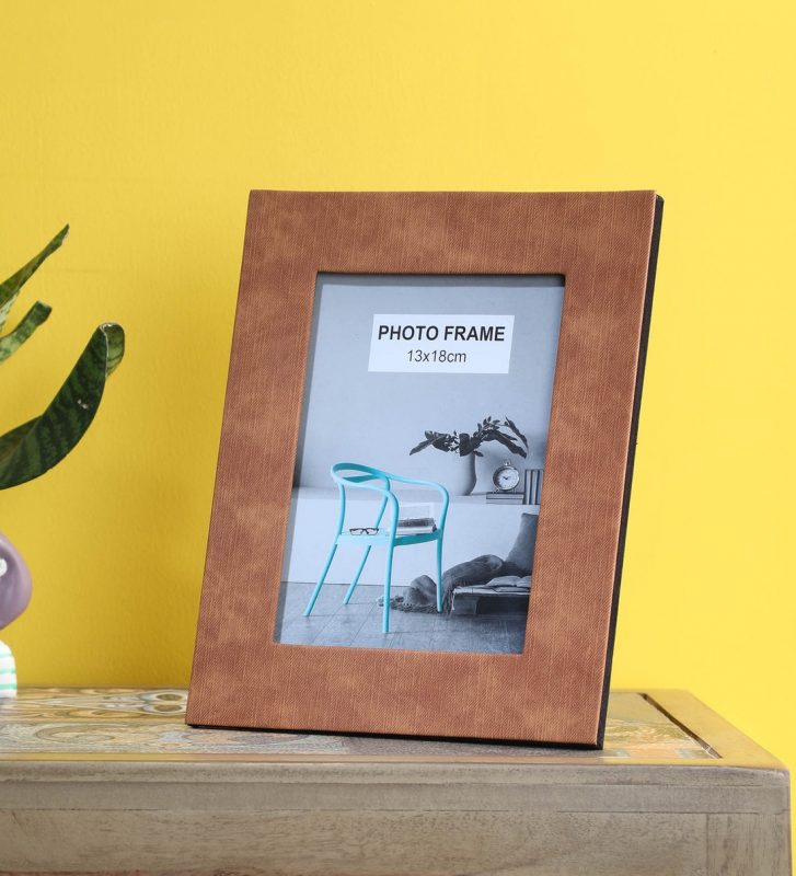 Buy Brown Fabric Standard Single Photo Frames by Frame It Online - Standard  Single Photo Frames - Photo Frames - Home Decor - Pepperfry Product