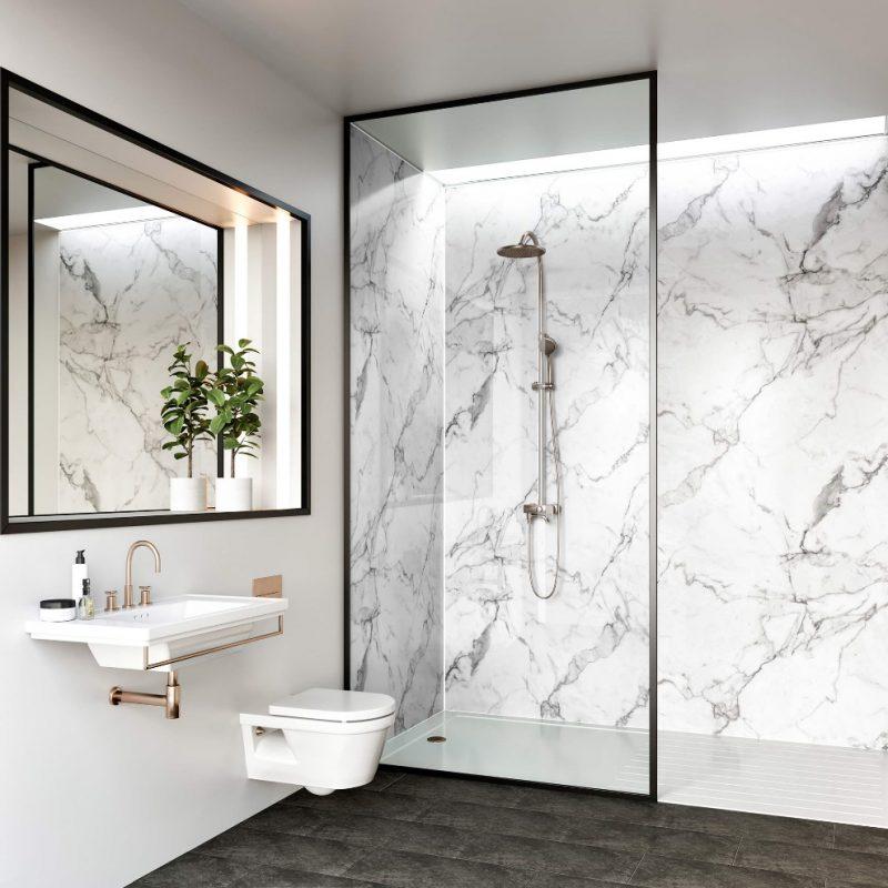 Calacatta Marble - Bathroom Cladding Direct
