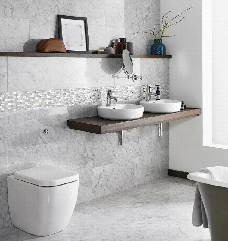 Carrara Polished Marble 305x610   Tile Giant
