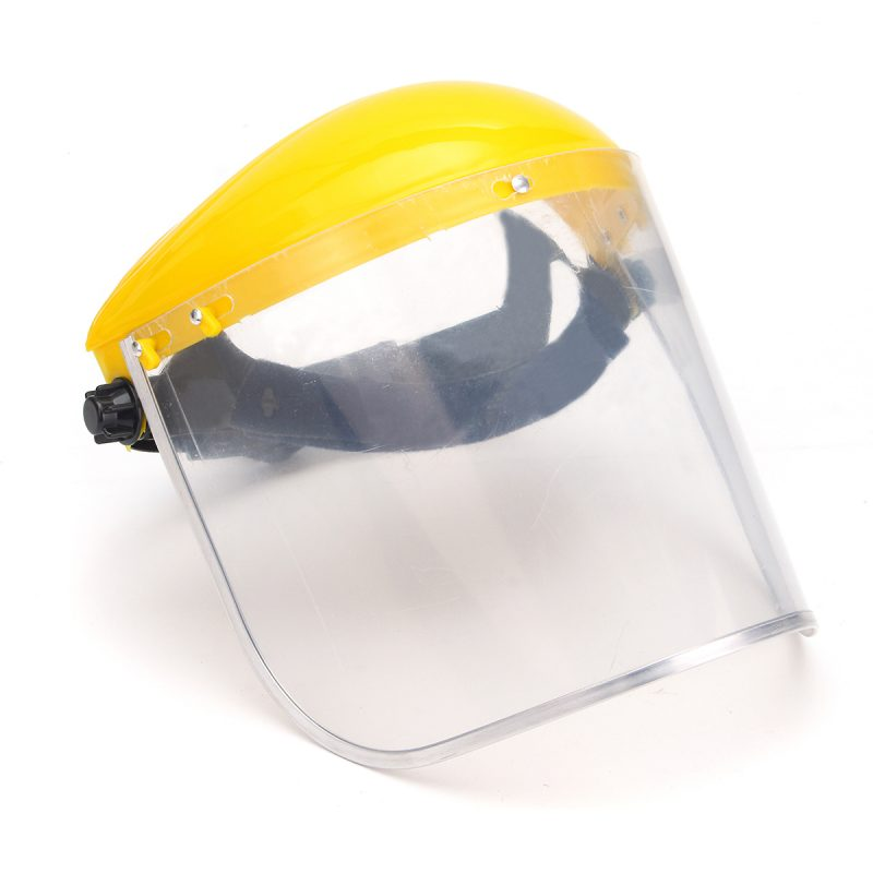 Clear Mesh Full Visor Flip Up Face Shield Screen Safety Mask Eye Protector  | eBay