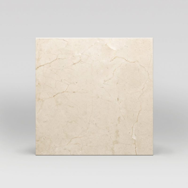 "Crema Marfil Select Polished 18""x18"" Marble Tile - BigAppleMarble.com"