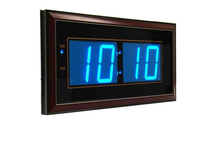 Digital Led Wall Clocks Battery Operated | Led wall clock, Clock, Digital  wall
