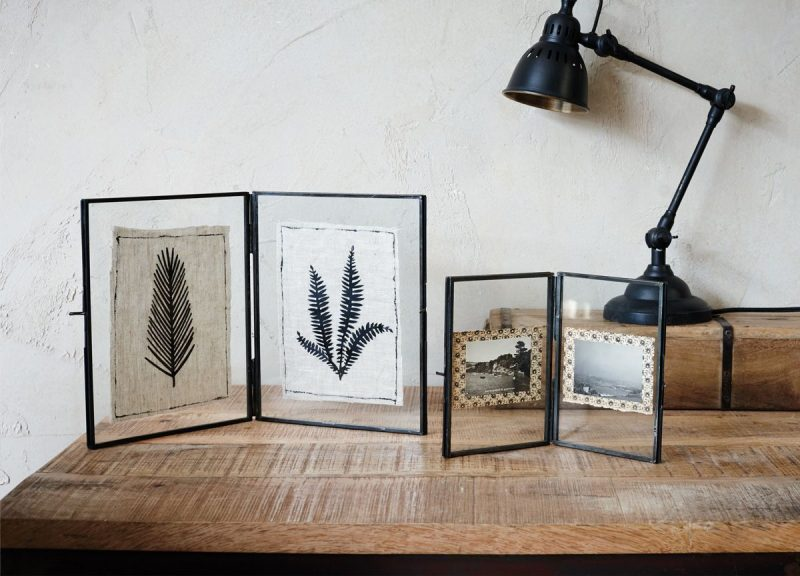 Folded Danta Frame - Antique Black – Nkuku