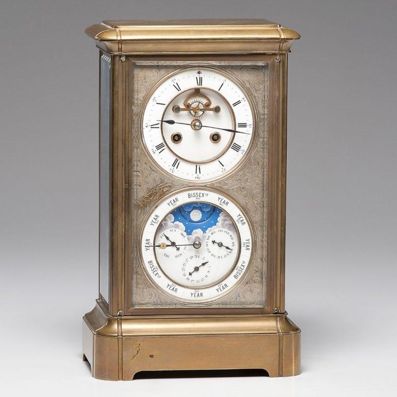 French Regulator Calendar Clock | Cowan's Auction House: The Midwest's Most  Trusted Auction House / Antiques / Fine Art / Art Appraisals