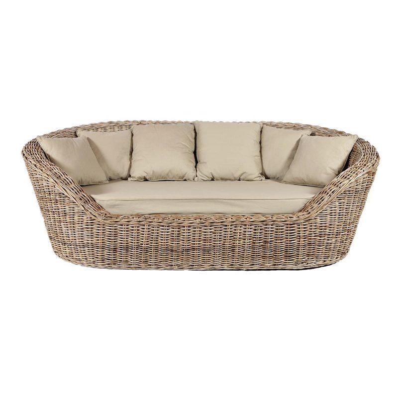 Handmade kubu rattan sofa, Comfortable sofa - Rotin Design
