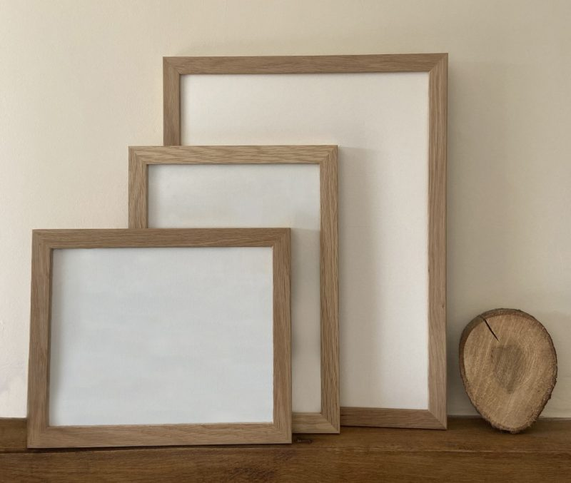Oak Picture Frame | Ironbridge Fine Arts and Framing