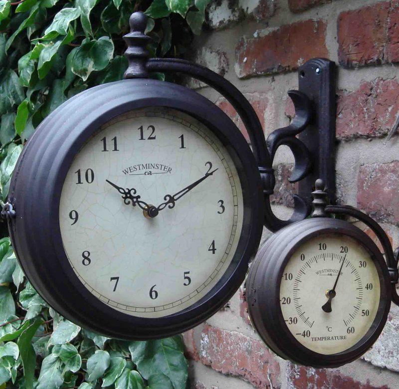 Outdoor Clocks by Dans Clocks | Outdoor clock, Garden clocks, Outdoor wall  clocks