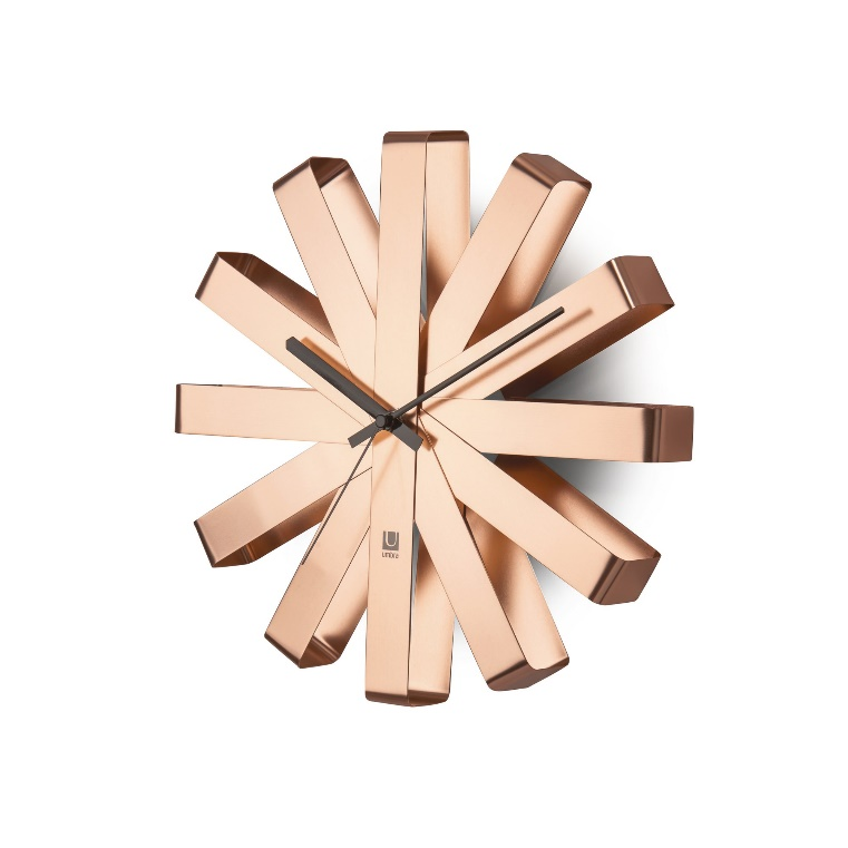 Ribbon Wall Clock | Modern Clocks by Umbra
