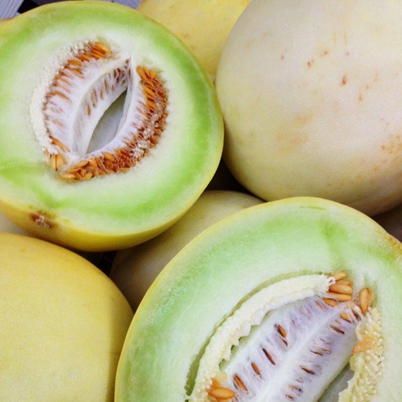 Simple Honeydew Melon Sherbet - Weavers Orchard