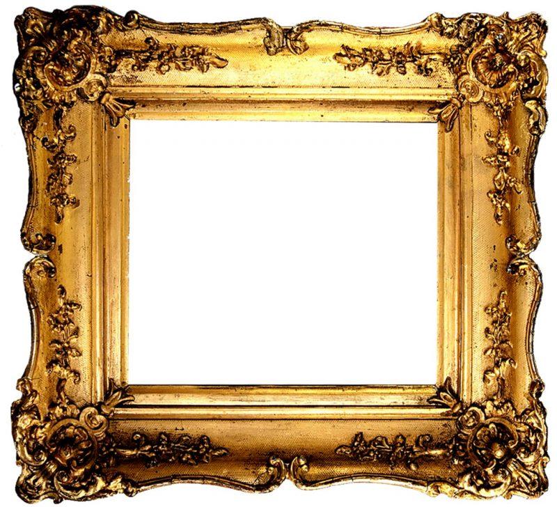 Vintage Gold Gilded Frames Free Printables!   Gold picture frames, Antique picture frames, Vintage frames