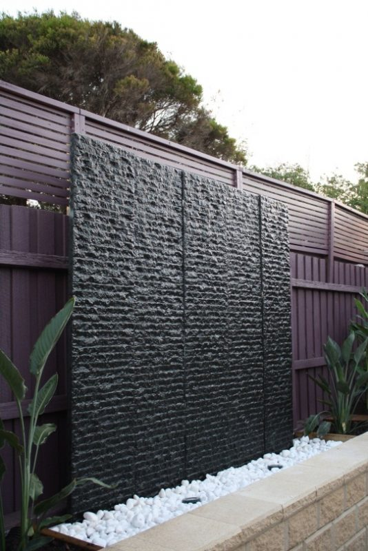 2m garden water wall | Water walls, Outdoor water features wall, Water  feature wall