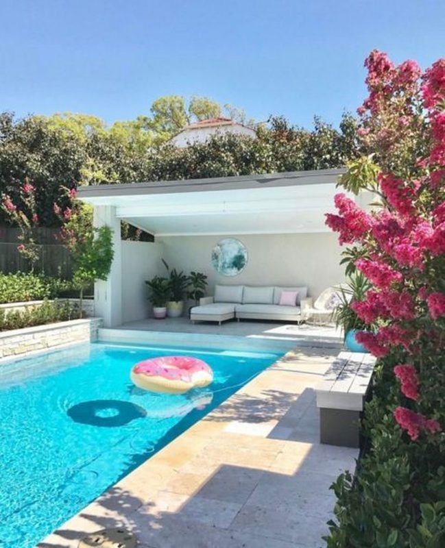 37 Amazing Backyard Pool Ideas   Pool landscape design, Backyard pool, Pool  landscaping