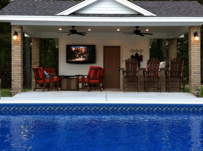 Diy Pool House Plans Lovely Plansth Outdoor Kitchen Small Shed Design Ideas  Inexpensive Home Elements And Style Kits Blueprints Crismatec.com