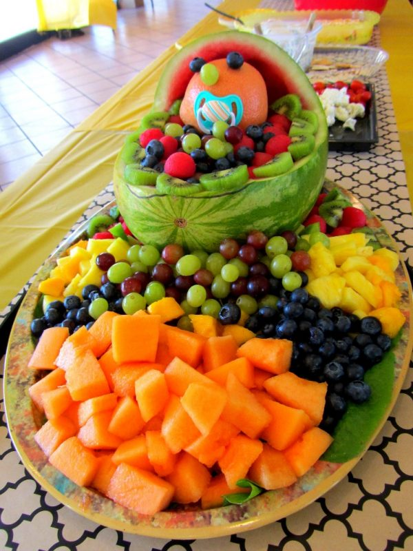 Fruit Platter - baby shower | Baby shower fruit, Baby shower fruit tray,  Fruit platter