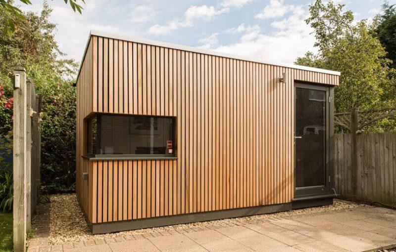 Garden Office Pod Brighton   Green Studios in 2020   Garden office, Backyard office, Office pods