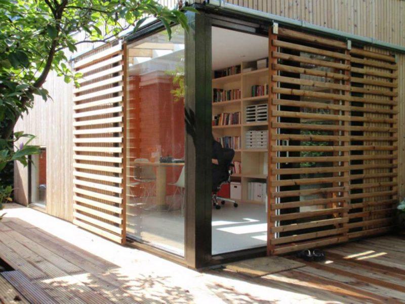Garden pavilion guest house and office | Garden pavilion, Garden office, Exterior design