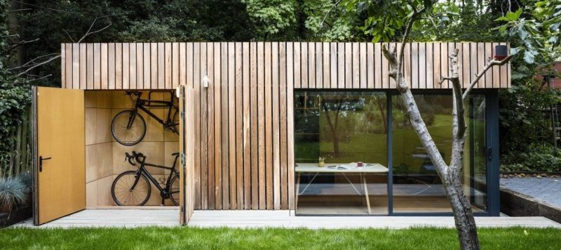 Garden room addition #garden #room #gardenroom Our garden rooms are a stunning addition to your outdoor space. Garden in 2020 | Garden cabins, Modern shed, Building a shed