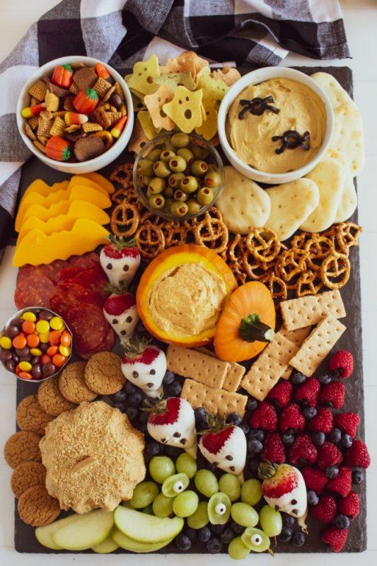 Halloween Appetizer Snack Board - Family Fresh Meals