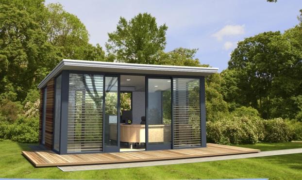 Is #GardenOfficeScotland Is Better Than Inside Office? https://bit.ly/2FZ73Ss #garden #office #scotland #Fi… | Garden office shed, Backyard office, Backyard studio