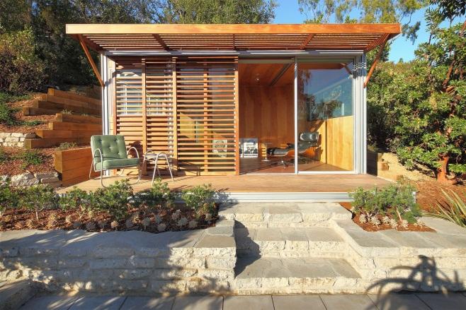 kitHAUS   modern, sustainable, pre-fab modules   Backyard office, Backyard studio, Prefab office