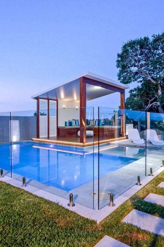 Luxury Ideas for Outdoor Living and Patio Pools   Luxury swimming pools,  Pool renovation, Pool landscaping