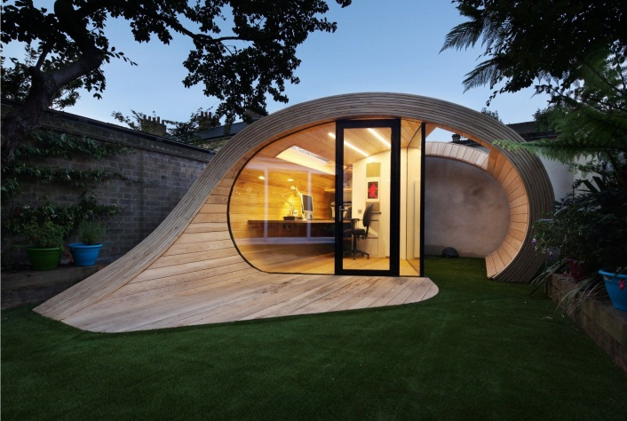Office Shed for the Backyard | Backyard office