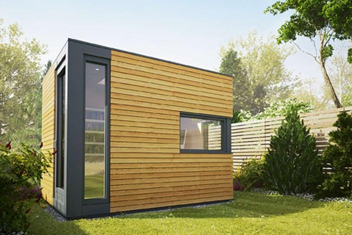 Outbuildings | Homebuilding & Renovating | Backyard office, Garden pods, Garden office
