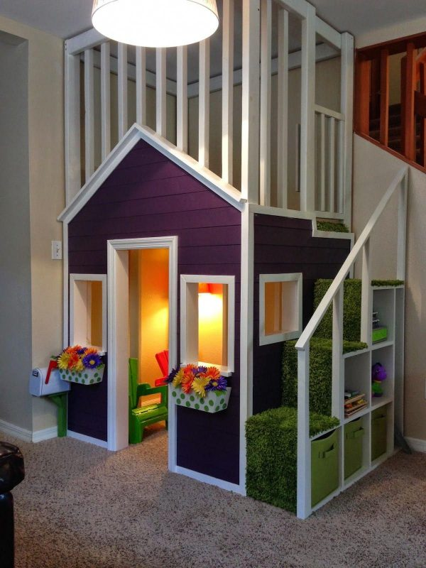 Pin by Playhouses For Boys And Girls on Playful Playhouses | Indoor  playhouse, Play houses, Kids indoor playhouse