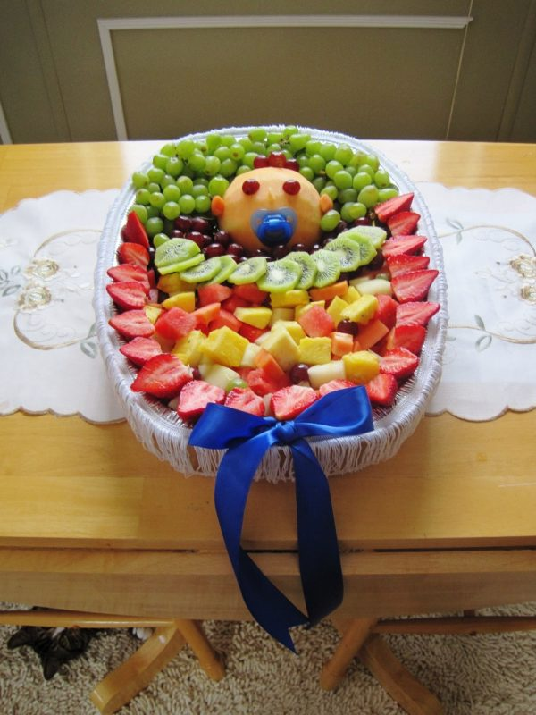 Pin by Regina Paschall on Food/Desserts/Etc | Baby shower fruit, Baby shower  fruit tray, Baby fruit