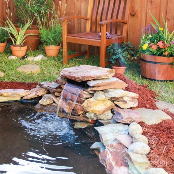 Pontec PondoFall Mini Waterfall Cascade Filter Feature Garden Pond