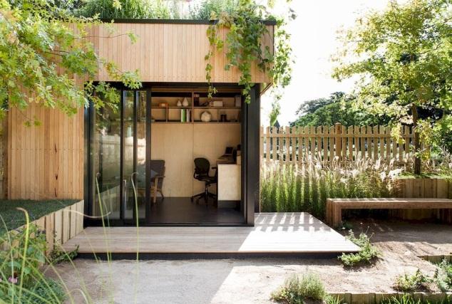 Wood Summer season Home - A Nice Undertaking | Backyard studio, Backyard office, Backyard