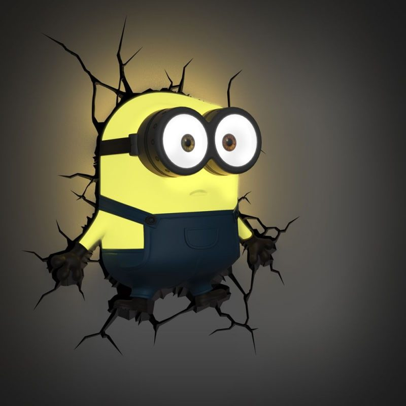 3D Light FX Minions Bob | Minion room decor, Minion room, Minion bedroom