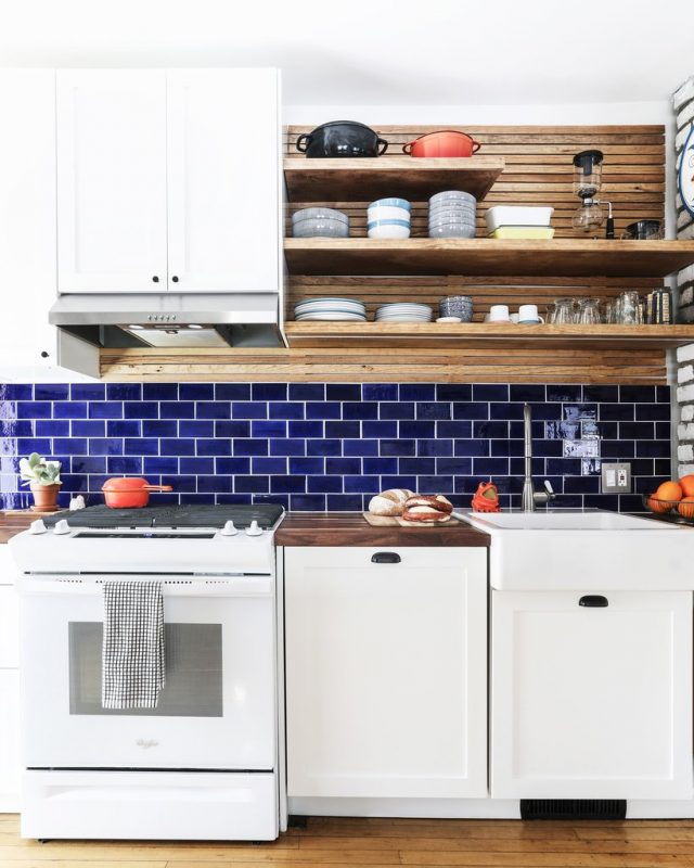 6 Ceramic Tile Backsplash Ideas for Small Kitchens | Mercury Mosaics
