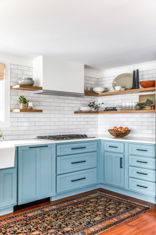 75 Beautiful Farmhouse Kitchen With Brick Backsplash Pictures & Ideas -  November, 2020 | Houzz