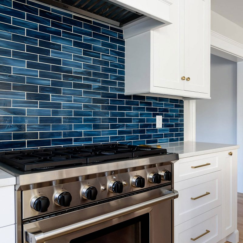 75+ Blue Backsplash Ideas ( Navy, Aqua, Royal or Coastal ) Blue Design