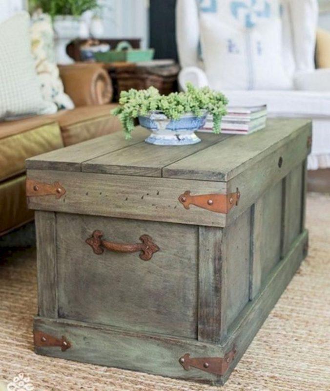 85 Creative farmhouse decorating ideas for interiors that will amaze you |  Diy farmhouse coffee table, Pottery barn inspired, Coffee table farmhouse