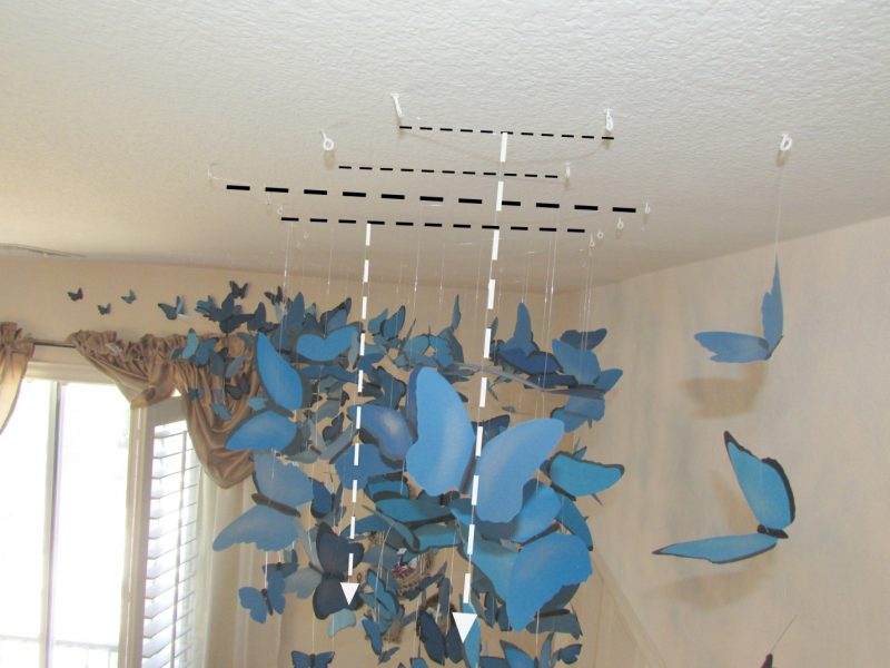 Butterfly Ceiling Installation DIY