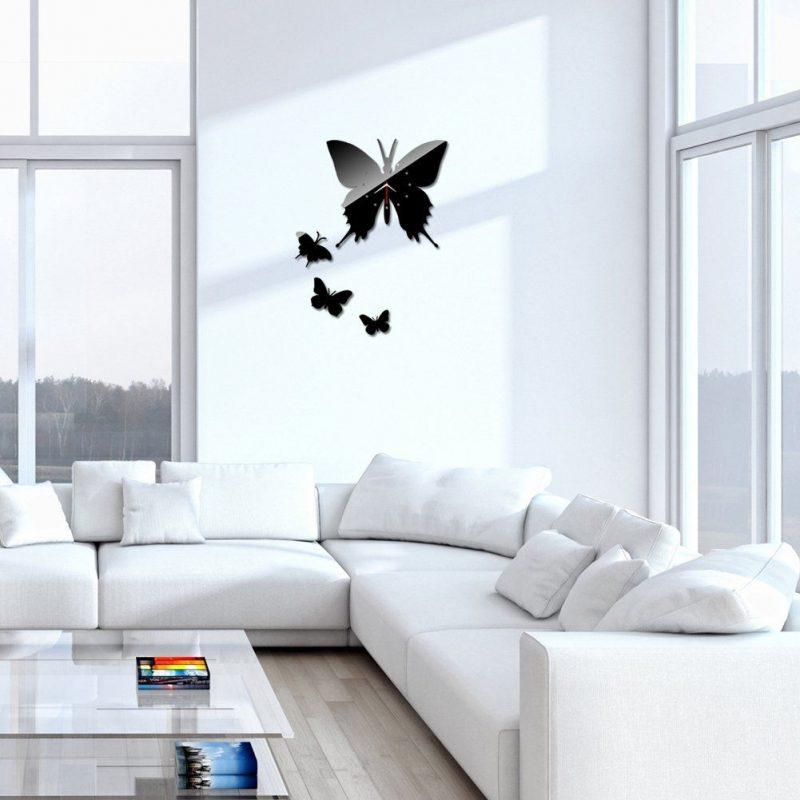 Chinatera New Modern Design DIY Wall Clock Home Decor Sticker Art Butterfly Decals (Black) >>> Tried it! Love it! Click the im… | Diy clock wall, Home diy, Diy wall