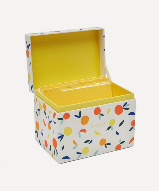 Citrus Twist Recipe Box | Liberty