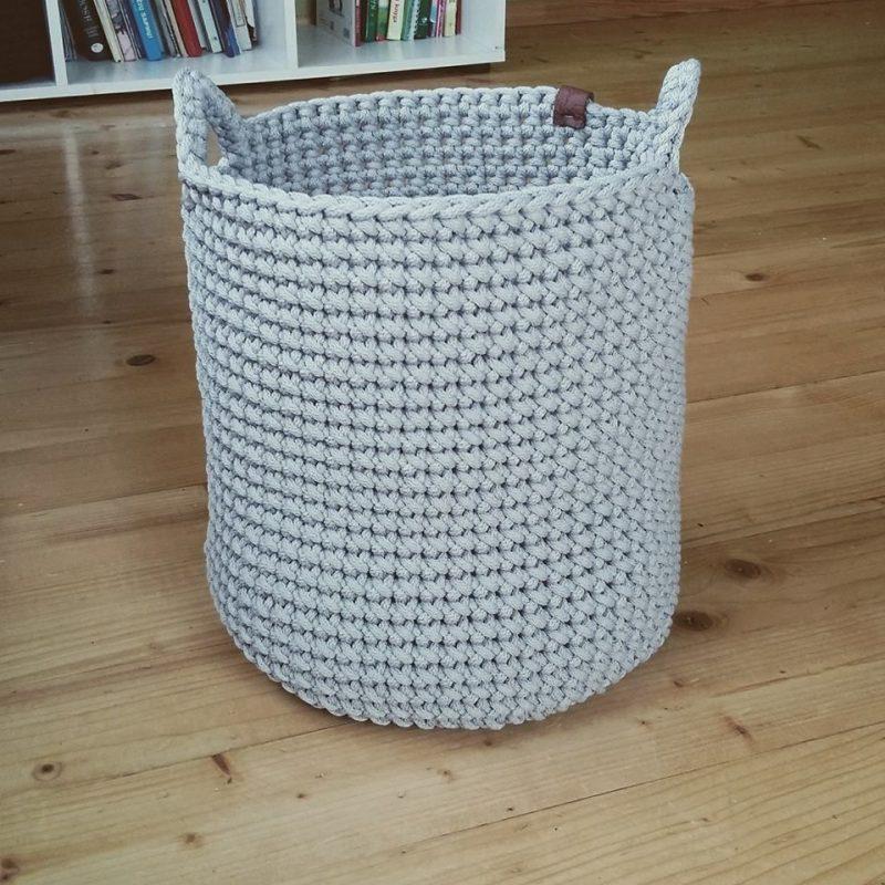 crochet basket, large storage basket, toys basket, towel basket, interior  decor, gift for home… | Crochet basket, Baby blanket crochet pattern,  Crochet pillow cover