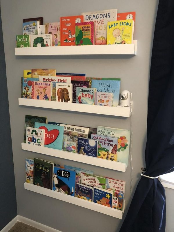 Floating Shelves, Children's Bookshelves, Picture Rail, Shelving Solutions, Nursery  Wall Shelf - FREE Shipping! in 2020 | Childrens book shelves, Nursery wall  shelf, Bookshelves kids