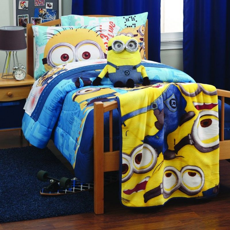 Minions Bedroom Set $0.00 | Minion bedroom, Minion bedroom decor, Minion  room decor