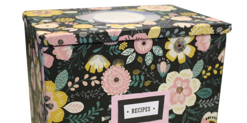 Recipe Box - Goodwill
