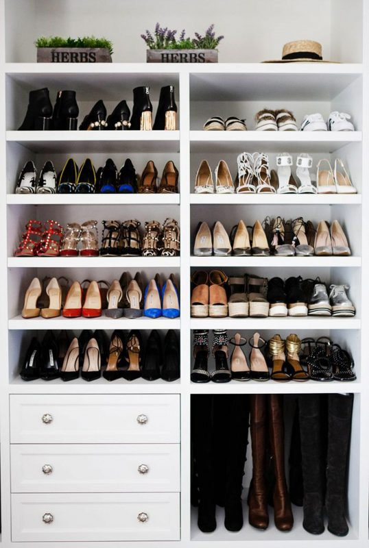 Shoe storage: declutter hallway and wardrobe in one hour | Woman & Home