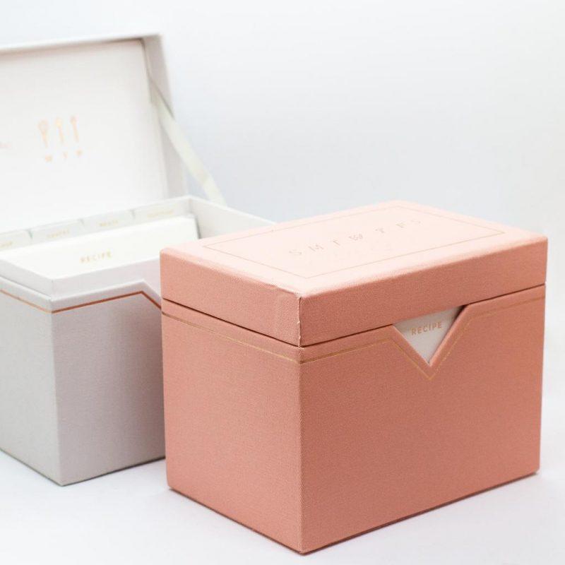 SMTWTFS RECIPE BOX CORAL PINK | Hadron Epoch