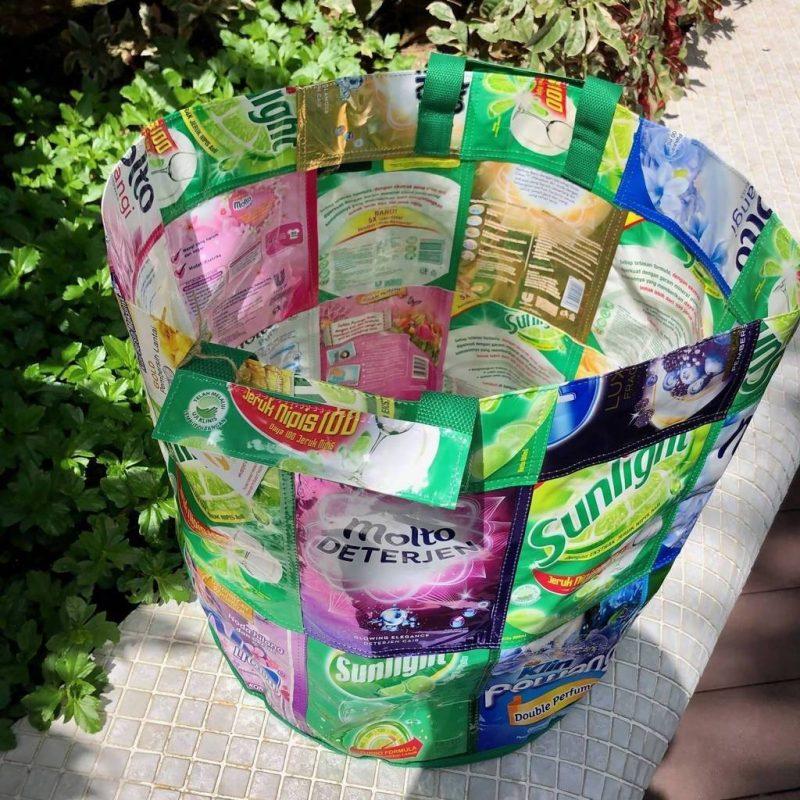 Upcycled Laundry Bin– Naiise
